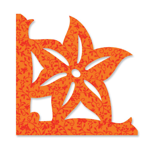 Sizzix - Bigz Die - Quilting - Applique - Die Cutting Template - Flower, Tiger Lily