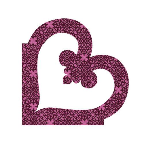 Sizzix - Bigz Die - Quilting - Applique - Heart Flourish