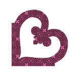 Sizzix - Bigz Die - Quilting - Applique - Heart Flourish