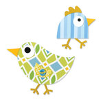 Sizzix - Happy Baby Collection - Bigz Die - Birds 3