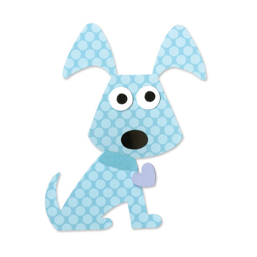 Sizzix - Happy Baby Collection - Bigz Die - Dog, Puppy