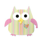 Sizzix - Bigz Die - Happy Baby Collection - Die Cutting Template - Owl 2