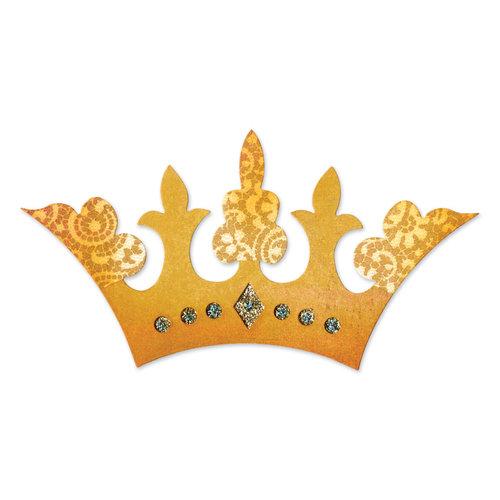 Sizzix - BasicGrey - Hello Luscious Collection - Bigz Die - Crown 2