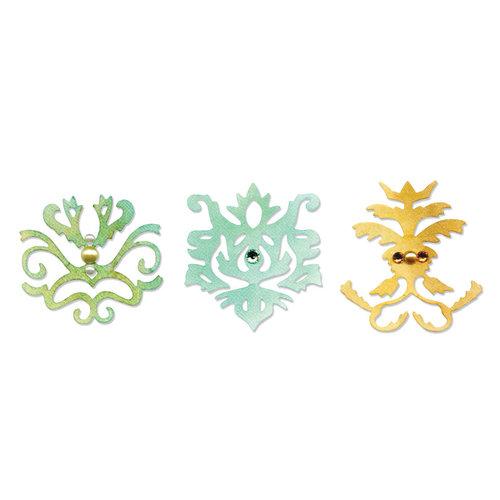 Sizzix - Luxurious Collection - Sizzlits Die - Medium - Royal Motif Set