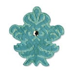 Sizzix - Embosslits Die - Luxurious Collection - Die Cutting Template - Small - Decorative Finial
