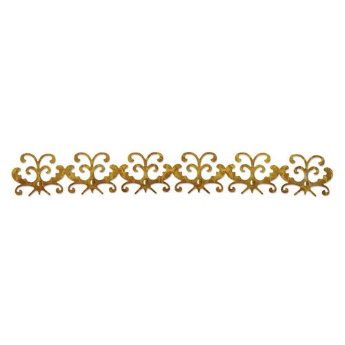 Sizzix - Sizzlits Decorative Strip Die - Luxurious Collection - Die Cutting Template - Fanciful Border