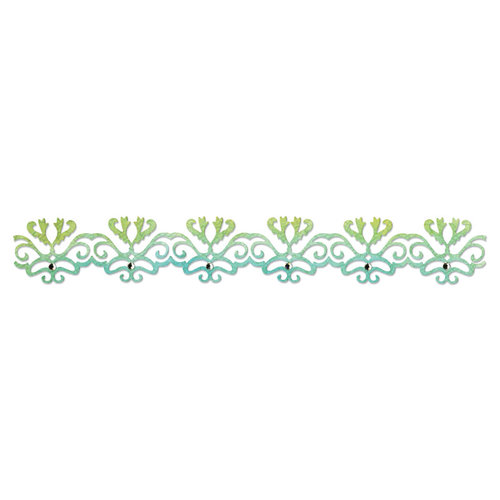 Sizzix - Luxurious Collection - Sizzlits Decorative Strip Die - Filigree Border