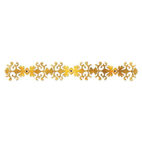 Sizzix - Sizzlits Decorative Strip Die - Luxurious Collection - Die Cutting Template - Luxury in the Details