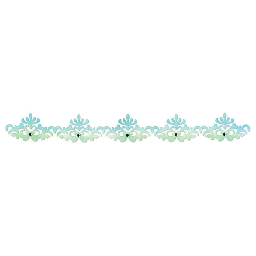 Sizzix - Luxurious Collection - Sizzlits Decorative Strip Die - Regal Edging
