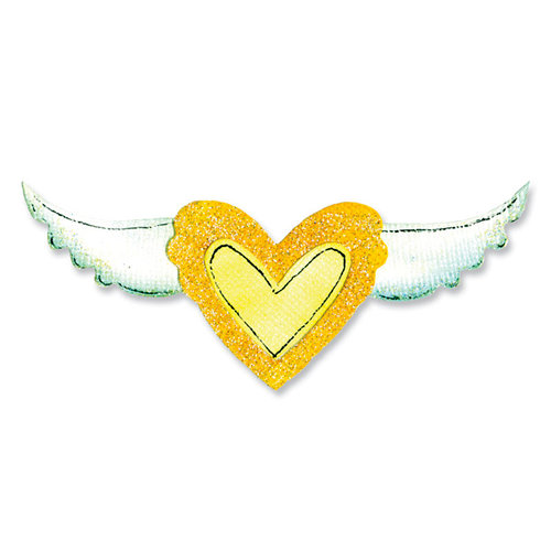 Sizzix - Movers and Shapers Die - Heart and Wing Set