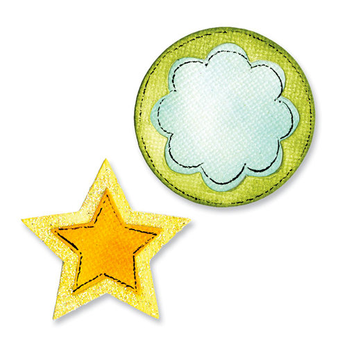 Sizzix - Movers and Shapers Die - Star and Circle Set
