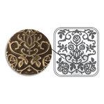 Sizzix - DecoEmboss Die - Vintaj - Embossing Folders - Nouveau Roses