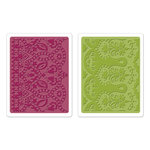 Sizzix - Textured Impressions - Bohemia Collection - Embossing Folders - Moroccan Daydreams Set