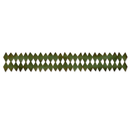 Sizzix - Tim Holtz - Alterations Collection - Sizzlits Decorative Strip Die - Harlequin Border