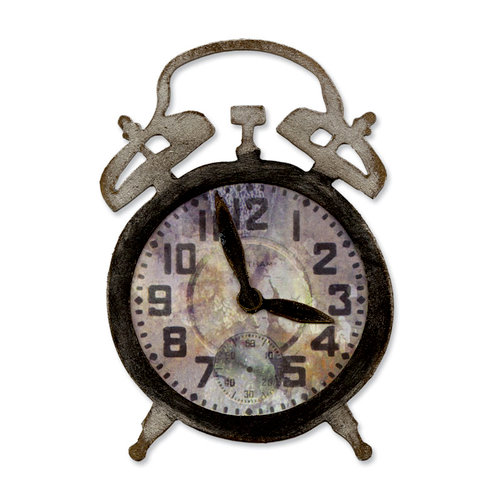 Sizzix - Tim Holtz - Alterations Collection - Bigz Die - Tick-Tock