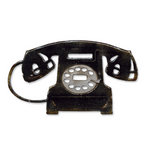 Sizzix - Tim Holtz - Alterations Collection - Bigz Die - Vintage Telephone