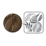 Sizzix - DecoEmboss Die - Vintaj - Embossing Folders - Fern Fronds