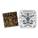 Sizzix - DecoEmboss Die - Vintaj - Embossing Folders - Lily Damask
