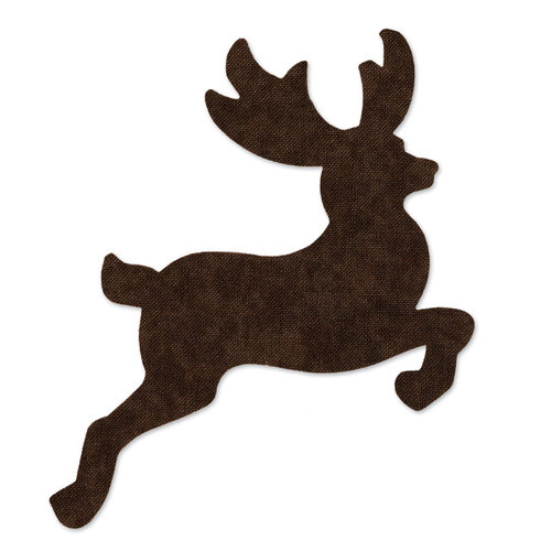 Sizzix - Originals Die - Christmas - Quilting - Reindeer 2