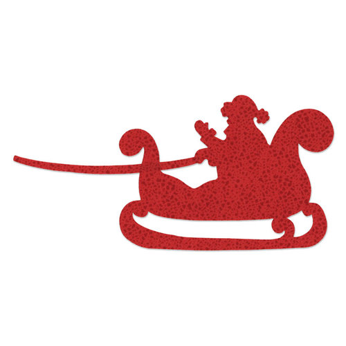 Sizzix - Bigz Die - Christmas - Quilting - Santa and Sleigh