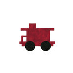 Sizzix - Bigz Die - Quilting - Die Cutting Template - Train Caboose