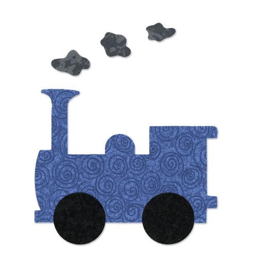 Sizzix - Bigz Die - Quilting - Train Engine