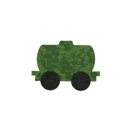 Sizzix - Bigz Die - Quilting - Train Tanker Car