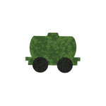 Sizzix - Bigz Die - Quilting - Die Cutting Template - Train Tanker Car