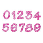 Sizzix - Bigz Die - Die Cutting Template - Set Two - Lollipop Shadow Numbers