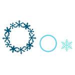 Sizzix - Framelits Die - Frame, Snowflake