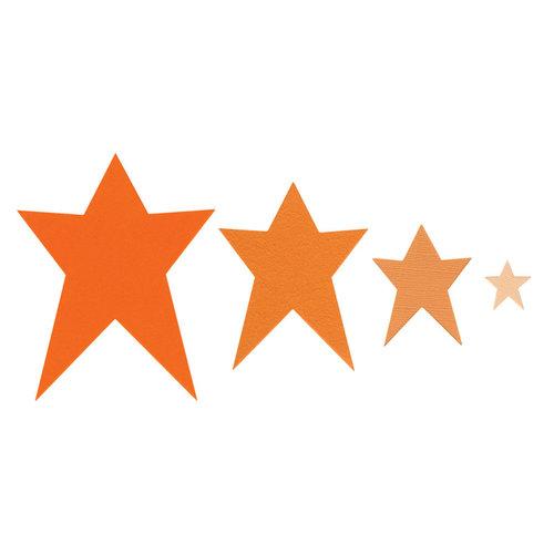 Sizzix - Framelits Die - Stars, Primitive