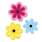 Sizzix - Bigz L Die - Die Cutting Template - Flower Layers