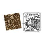 Sizzix - DecoEmboss Die - Vintaj - Embossing Folders - Floral Decor