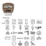 Sizzix - EClips - Tim Holtz - Alterations Collection - Electronic Shape Cutting System - Cartridge - Stamp2Cut - Number 9