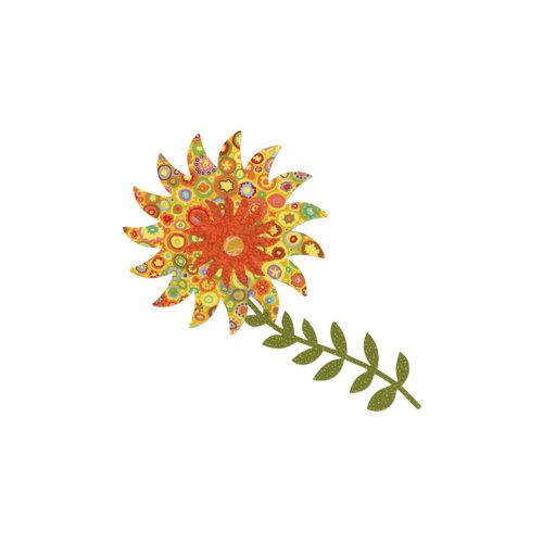Sizzix - Bigz Pro Die - Quilting - Flower, Piccadilly Sunflower