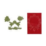 Sizzix - Framelits Die and Embossing Folder - Christmas - Ornament Set 2