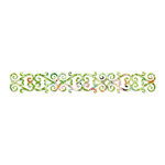 Sizzix - Home Entertaining Collection - Sizzlits Decorative Strip Die - Decorative Hearts