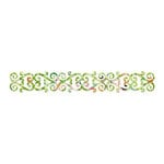 Sizzix - Sizzlits Decorative Strip Die - Home Entertaining Collection - Die Cutting Template - Decorative Hearts