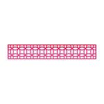 Sizzix - Home Entertaining Collection - Sizzlits Decorative Strip Die - Interlocking Circles