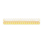 Sizzix - Home Entertaining Collection - Sizzlits Decorative Strip Die - Lace and Circles