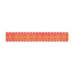 Sizzix - Home Entertaining Collection - Sizzlits Decorative Strip Die - Scallop Eyelet Lace