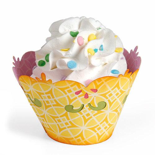 Sizzix - Home Entertaining Collection - Bigz L Die - Cupcake Holder, Decorative