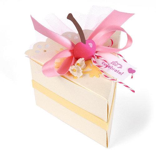 Sizzix - Home Entertaining Collection - Bigz Pro Die - Box, Decorative Cake