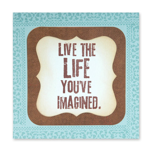 Sizzix - Bigz Die - Die Cutting Template - Frame and Label, Bracket