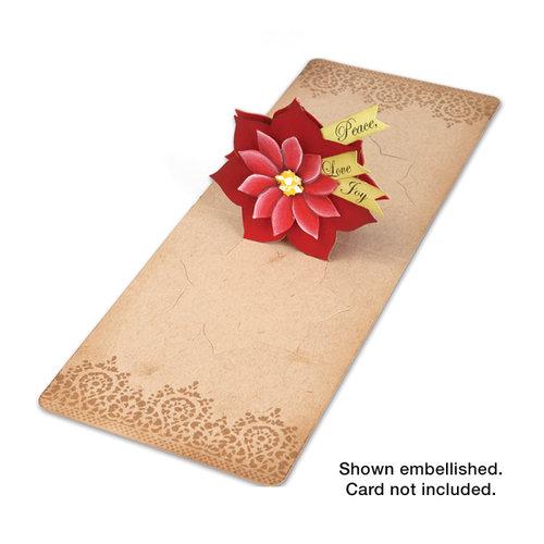 Sizzix - Pop 'n Cuts Die - Christmas - 3-D Pop Up - Flower, Poinsettia