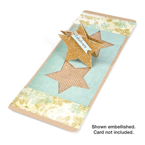 Sizzix - Pop 'n Cuts - Die Cutting Template - 3-D Pop Up - Star