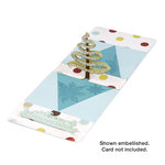 Sizzix - Pop 'n Cuts - Die Cutting Template - 3-D Pop Up - Tree, Ribbon