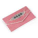 Sizzix - From the Heart Collection - ScoreBoards L Die - Gift Card Folder and Label