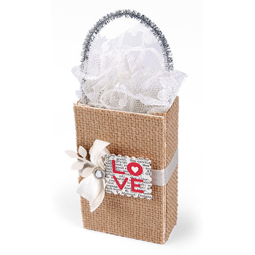 Sizzix - From the Heart Collection - ScoreBoards XL Die - Bag, Coupon and Mini Shopping
