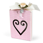 Sizzix - From the Heart Collection - ScoreBoards XL Die - Box, Artist Trading Card